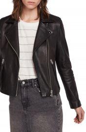 ALLSAINTS Dalby Leather Biker Jacket   Nordstrom at Nordstrom