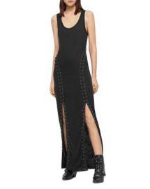 ALLSAINTS Daner Lace-Up Maxi Dress Women - Bloomingdale s at Bloomingdales