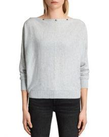 ALLSAINTS Elle Snap-Detail Sweater Women - Bloomingdale s at Bloomingdales