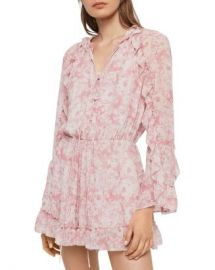 ALLSAINTS Flora Rosa Romper  Women - Bloomingdale s at Bloomingdales