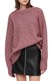 ALLSAINTS Gemini Metallic Knit Sweater   Nordstrom at Nordstrom