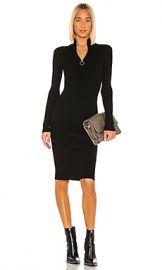ALLSAINTS Lacey Rib Dress in Black from Revolve com at Revolve