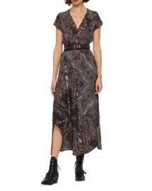 ALLSAINTS Leila Paisley Maxi Dress  Women - Bloomingdale s at Bloomingdales