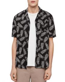 ALLSAINTS Pina Slim Fit Shirt Men - Bloomingdale s at Bloomingdales