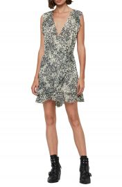 ALLSAINTS Priya Patch Leopard Print Sleeveless Dress   Nordstrom at Nordstrom