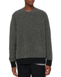 ALLSAINTS Tremett Boucl amp eacute  Crewneck Sweater    Men - Bloomingdale s at Bloomingdales