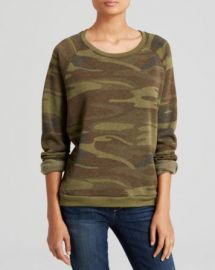 ALTERNATIVE Pullover - Camo at Bloomingdales