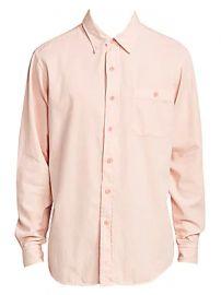 AMI Paris - Classic-Fit Shirt at Saks Fifth Avenue