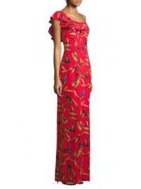 AMUR - Brielle Floral Silk Jumpsuit at Saks Fifth Avenue
