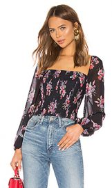 AMUR Beverly Top in Black from Revolve com at Revolve