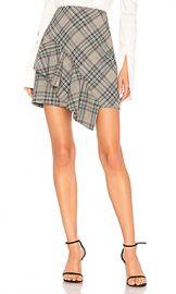 AMUR Emi Skirt in Light Grey from Revolve com at Revolve