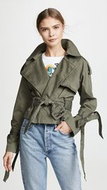 ANINE BING Aria Trench Coat at Shopbop