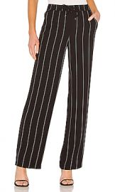 ANINE BING Isabella Pant in Black from Revolve com at Revolve