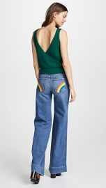 AO LA by alice   olivia Gorgeous High Rise Jeans at Shopbop