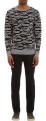 APC Zebra Jacquard Sweater at Barneys Warehouse