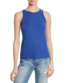 AQUA Ribbed Tank at Bloomingdales