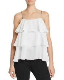 AQUA Tiered Camisole at Bloomingdales