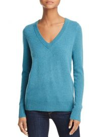 AQUA V-Neck Cashmere Sweater - 100  Exclusive  Women - Bloomingdale s at Bloomingdales