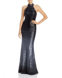 AQUA Avery G Ombr amp eacute  Sequined Gown - 100  Exclusive Women - Bloomingdale s at Bloomingdales