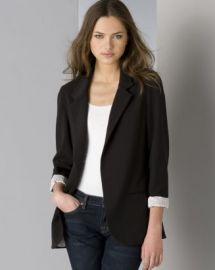 AQUA Boyfriend Blazer with Striped Lining - 100  Exclusive Women - Bloomingdale s at Bloomingdales