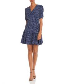 AQUA Button-Front Polka Dot Dress - 100  Exclusive  Women - Bloomingdale s at Bloomingdales