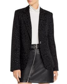 AQUA Capsule Leopard Brocade Blazer - 100  Exclusive  Women - Bloomingdale s at Bloomingdales
