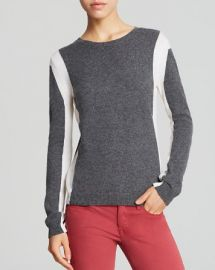 AQUA Cashmere - Vertical Colorblock at Bloomingdales