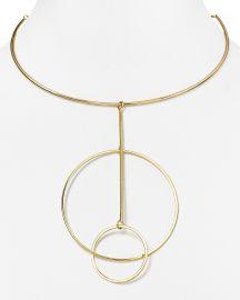 AQUA Cecelia Collar Necklace in Gold at Bloomingdales
