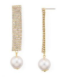AQUA Crystal  amp  Simulated Pearl Drop Earrings - 100  Exclusive Jewelry  amp  Accessories - Bloomingdale s at Bloomingdales