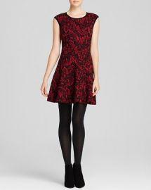 AQUA Dress - Knit Printed at Bloomingdales