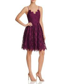 AQUA Lace Cami Dress - 100  Exclusive purple at Bloomingdales
