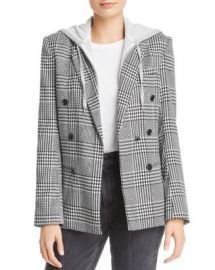 AQUA Layered-Look Houndstooth Blazer - 100  Exclusive  Women - Bloomingdale s at Bloomingdales