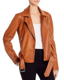 AQUA Leather Moto Jacket - 100  Exclusive  Women - Bloomingdale s at Bloomingdales