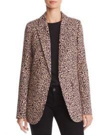 AQUA Leopard Print Blazer - 100  Exclusive  Women - Bloomingdale s at Bloomingdales