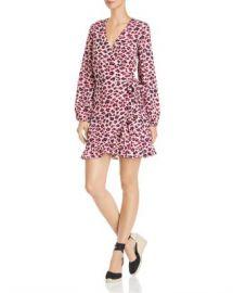 AQUA Leopard Print Wrap Dress - 100  Exclusive Women - Bloomingdale s at Bloomingdales