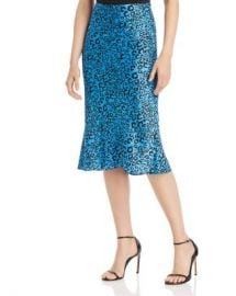 AQUA Neon Leopard-Print Midi Skirt - 100  Exclusive Women - Bloomingdale s at Bloomingdales