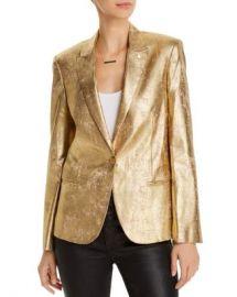 AQUA Pin Metallic Blazer - 100  Exclusive  Women - Bloomingdale s at Bloomingdales