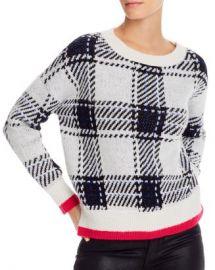 AQUA Plaid Crewneck Sweater - 100  Exclusive  Women - Bloomingdale s at Bloomingdales