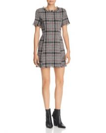 AQUA Plaid Tweed Dress - 100  Exclusive  Women - Bloomingdale s at Bloomingdales