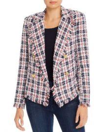 AQUA Plaid Tweed Open-Front Blazer - 100  Exclusive  Women - Bloomingdale s at Bloomingdales