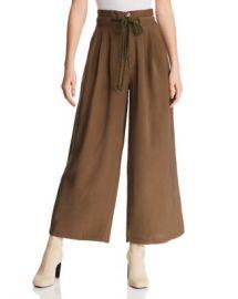 AQUA Pleated Wide-Leg Pants - 100  Exclusive  Women - Bloomingdale s at Bloomingdales