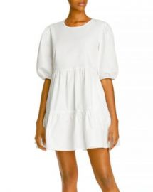 AQUA Poplin Mini Dress - 100  Exclusive Women - Bloomingdale s at Bloomingdales