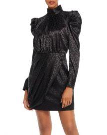 AQUA Puff-Sleeve Leopard-Pattern Dress - 100  Exclusive  Women - Bloomingdale s at Bloomingdales