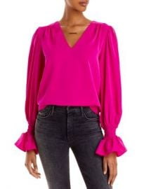 AQUA Puff Sleeve Top - 100  Exclusive Women - Bloomingdale s at Bloomingdales