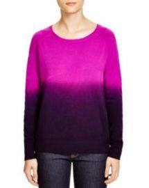 AQUA Raglan Dip Dye Sweater in Pink at Bloomingdales