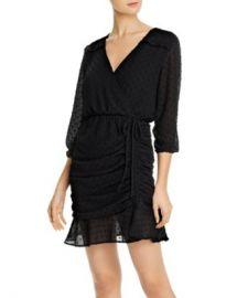 AQUA Ruched Clip Dot Dress - 100  Exclusive  Women - Bloomingdale s at Bloomingdales