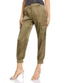 AQUA Satin Cargo Pants - 100  Exclusive  Women - Bloomingdale s at Bloomingdales