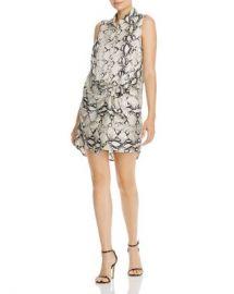 AQUA Snakeskin Wrap-Style Sheath Dress - 100  Exclusive Women - Bloomingdale s at Bloomingdales