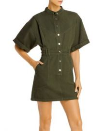AQUA Snap-Front Mini Dress - 100  Exclusive  Women - Bloomingdale s at Bloomingdales