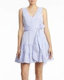 AQUA Striped Mini Dress - 100  Exclusive Women - Bloomingdale s at Bloomingdales